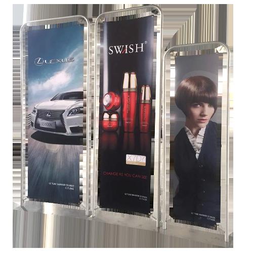 Custom branded Classic Straight Framed Banner