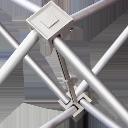 Curved Pop Up Display pop up frame connector system
