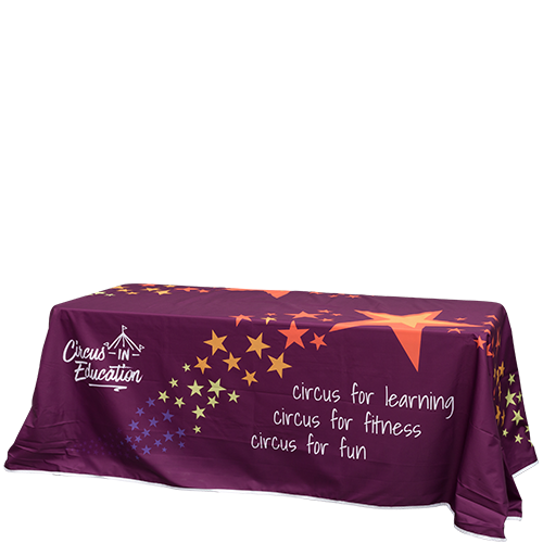 Custom branded Table Cover loose