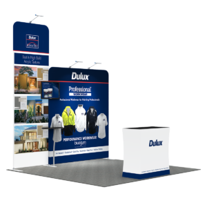 3X3M Tradeshow Booth - Style 03