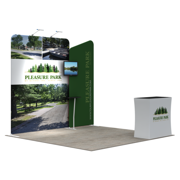 3X3M Tradeshow Booth - Style 04