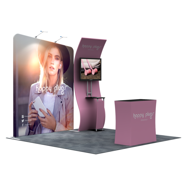 3X3M Tradeshow Booth - Style 05