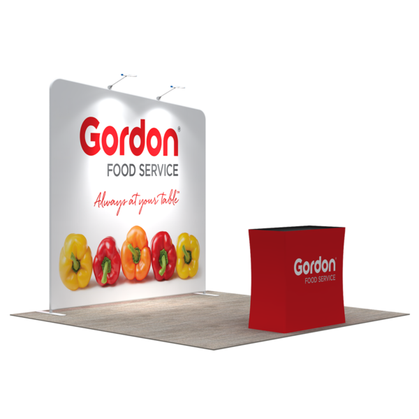 3X3M Tradeshow Booth - Style 06