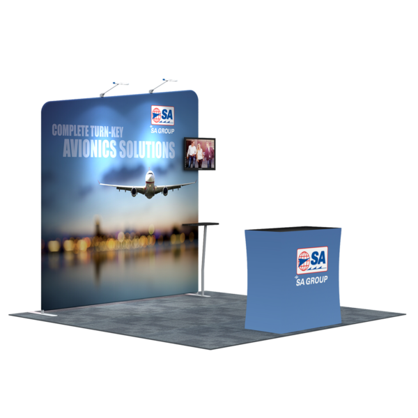 3X3M Tradeshow Booth - Style 09