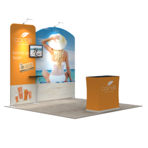 3X3M Tradeshow Booth - Style 10