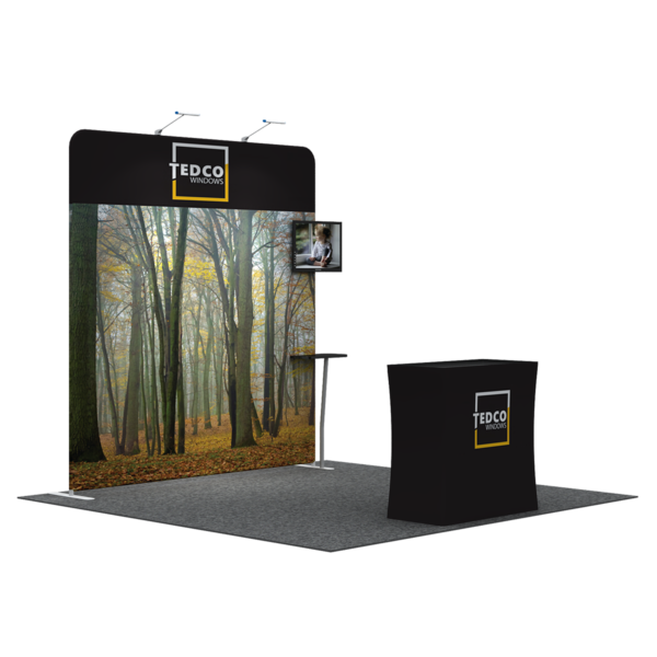 3X3M Tradeshow Booth - Style 11