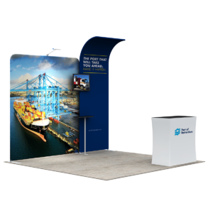 3X3M Tradeshow Booth - Style 13