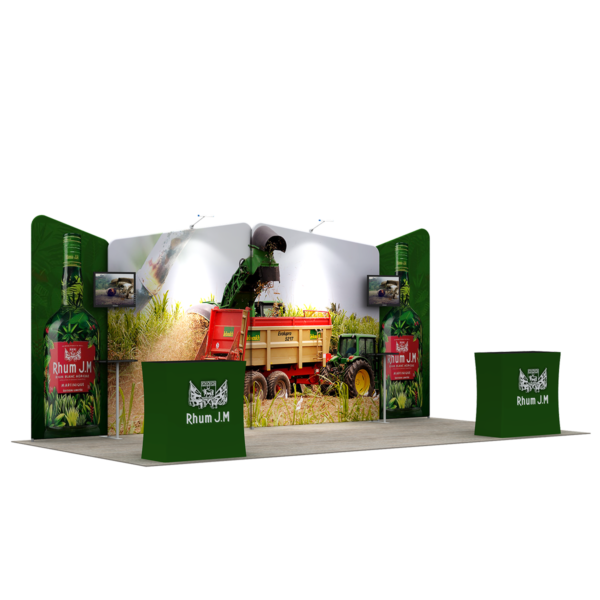 3X6M Tradeshow Booth - Style 01