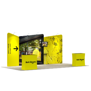 3X6M Tradeshow Booth - Style 03