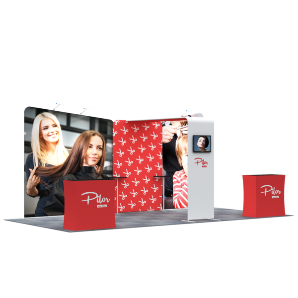 3X6M Tradeshow Booth - Style 04