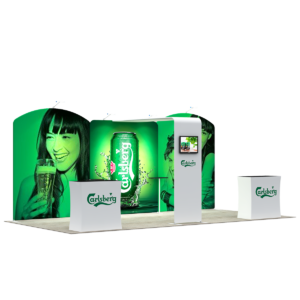 3X6M Tradeshow Booth - Style 05