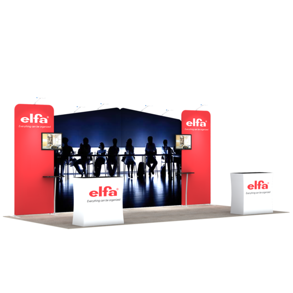 3X6M Tradeshow Booth - Style 07