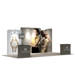 3X6M Tradeshow Booth - Style 08