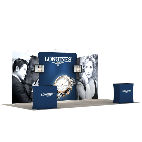 3X6M Tradeshow Booth - Style 09