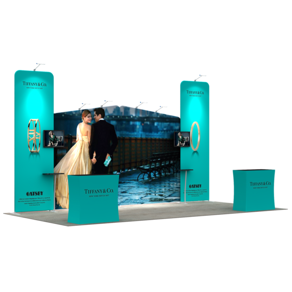 3X6M Tradeshow Booth - Style 10