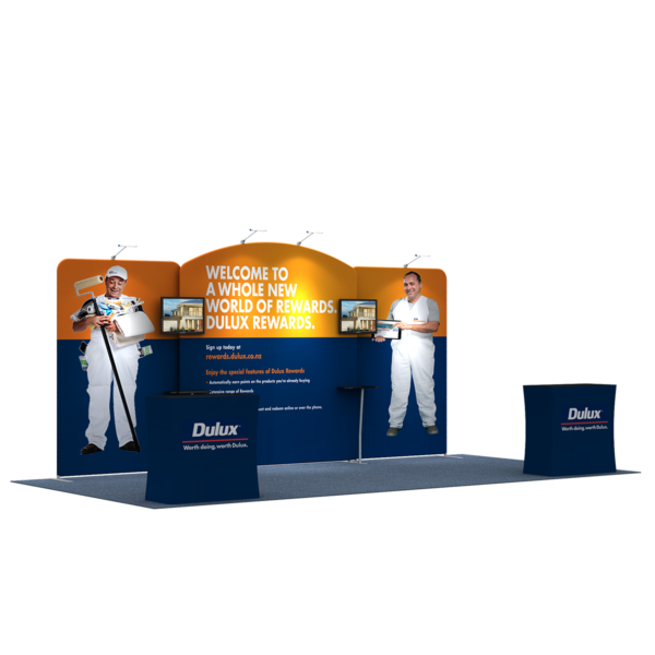 3X6M Tradeshow Booth - Style 12