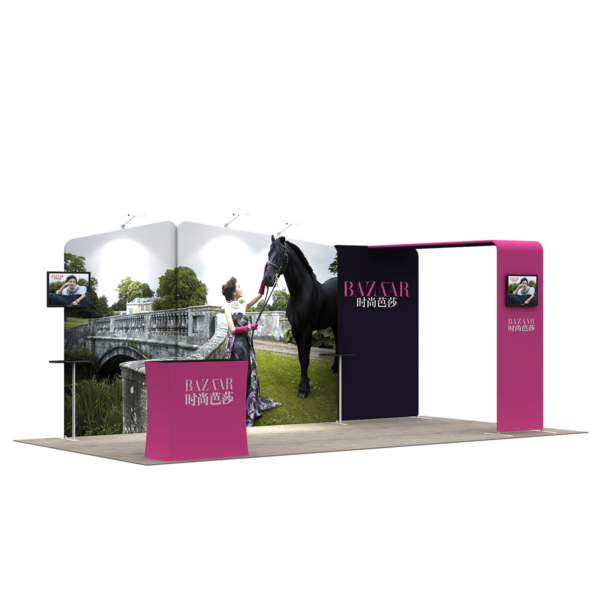 3X6M Tradeshow Booth - Style 20