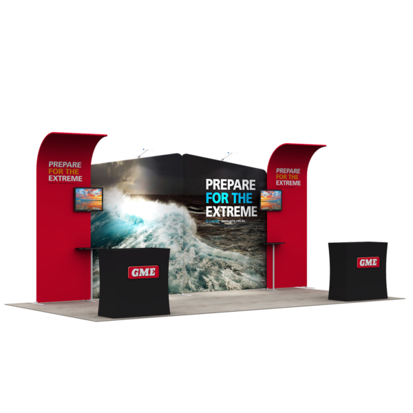 3X6M Tradeshow Booth - Style 21