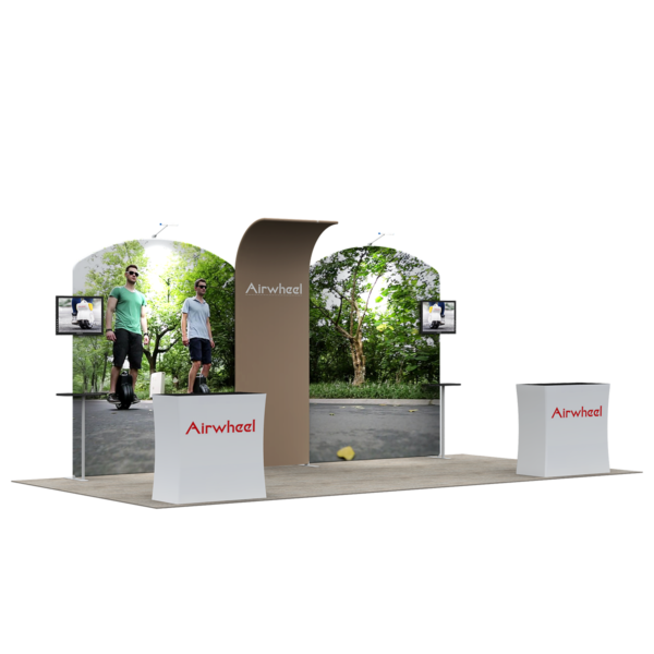 3X6M Tradeshow Booth - Style 23