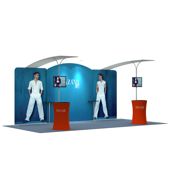 3X6M Tradeshow Booth - Style 31