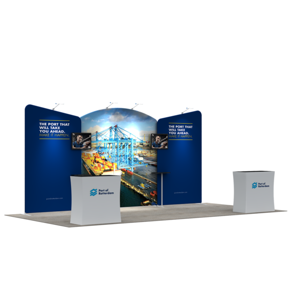 3X6M Tradeshow Booth - Style 33