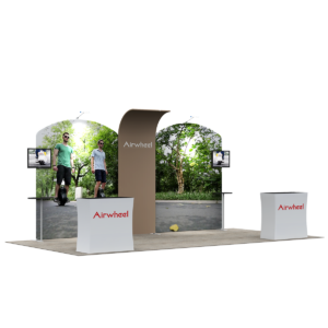 3X6M Tradeshow Booth - Style 35