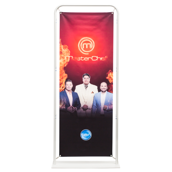 Classic Straight Framed Banner Stand