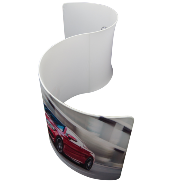 Semi Circular S Shaped Display Stand