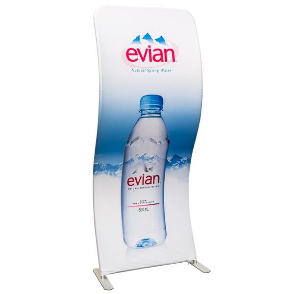 Snake Curved Banner Stand