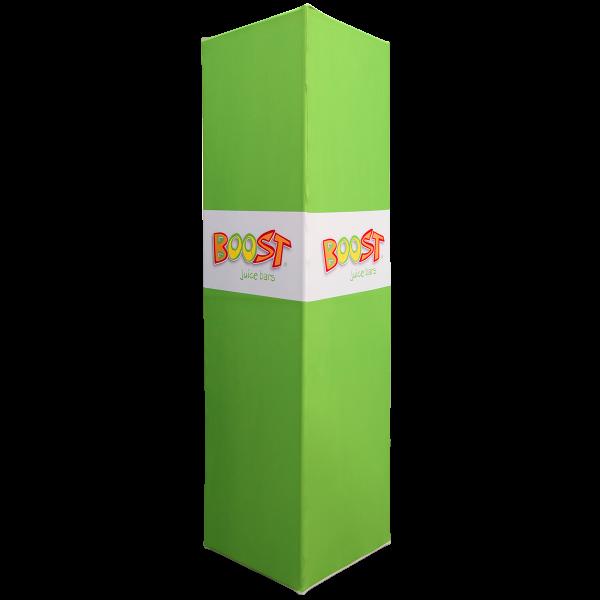 Square Column Fabric Tower